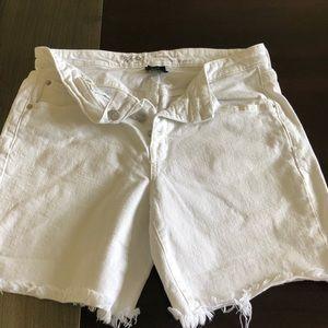 Size 8 mossimo frayed shorts